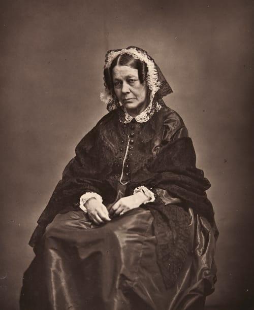 Madame de Ségur Carjat, Etienne  (French, 1828-1906)