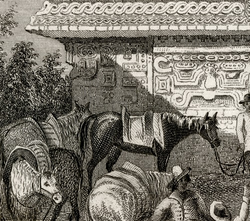 Monjas-Chichen Itza Catherwood, Frederick  (British, 1799-1854)