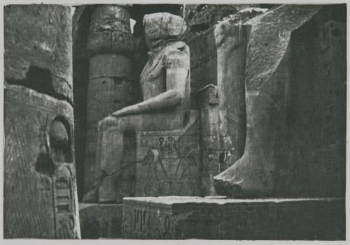 XVII Luxor (Image 1) Choisy, Auguste (pos)  (French, 1841-1909)