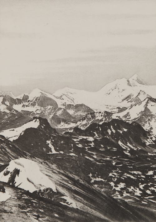 Le Weisshorn _ 4512m Civiale, Aimé  (Italian, 1821-1893)
