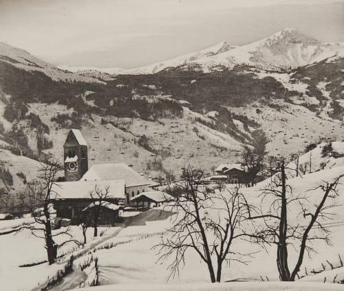 Grindelwald au Mois de Février Civiale, Aimé  (Italian, 1821-1893)