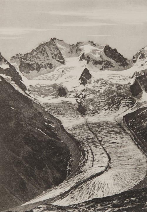Le Bernina _ 4052m Civiale, Aimé  (Italian, 1821-1893)