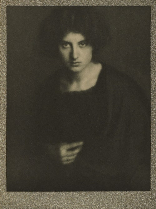 Portrait of Miss R Coburn, Alvin Langdon  (American, 1882-1966)