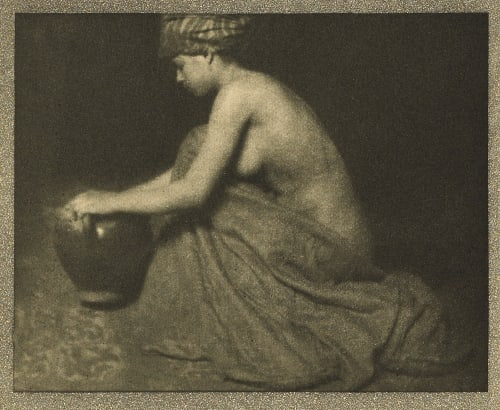 The Water Carrier Coburn, Alvin Langdon  (American, 1882-1966)