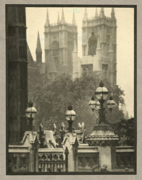 Westminster Abbey Coburn, Alvin Langdon  (American, 1882-1966)