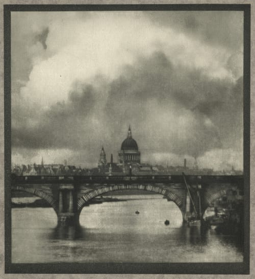 St. Paul's from the River Coburn, Alvin Langdon  (American, 1882-1966)