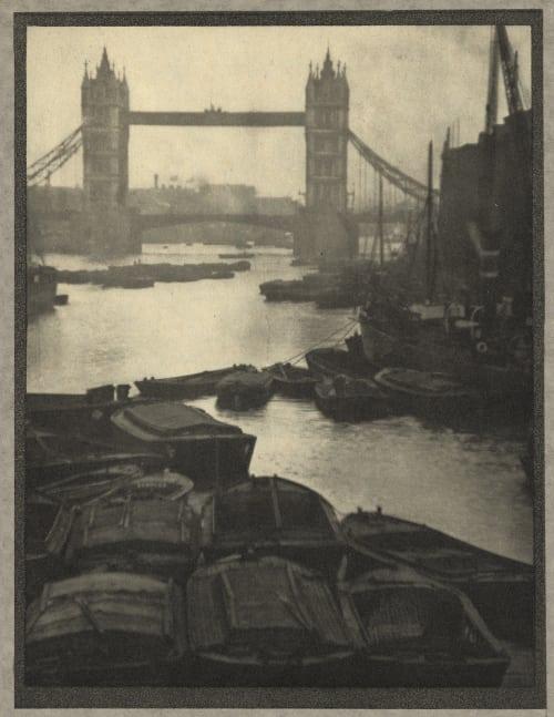 The Tower Bridge Coburn, Alvin Langdon  (American, 1882-1966)