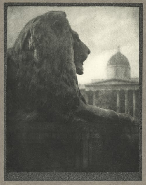 The British Lion Coburn, Alvin Langdon  (American, 1882-1966)