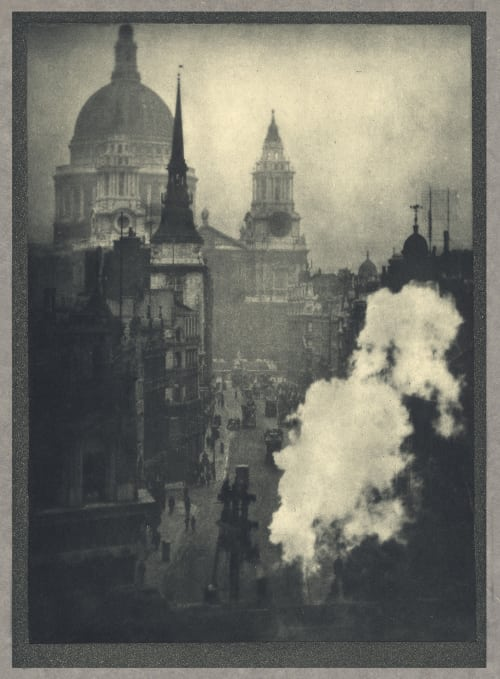 St. Paul's From Ludgate Circus Coburn, Alvin Langdon  (American, 1882-1966)