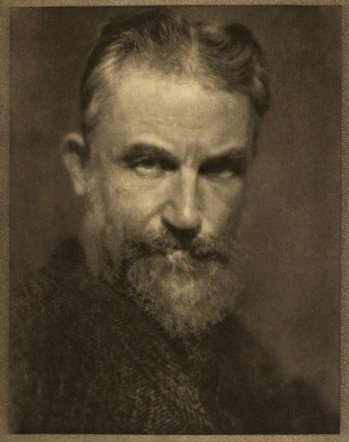 G. Bernard Shaw, Welwyn Coburn, Alvin Langdon  (American, 1882-1966)