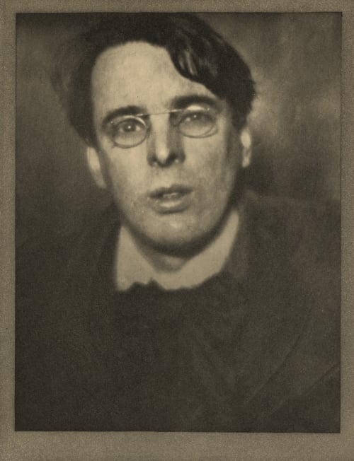 W.B. Yeats, Dublin Coburn, Alvin Langdon  (American, 1882-1966)