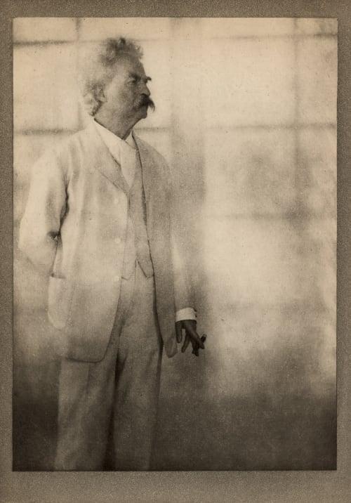 Mark Twain, Stormfield Coburn, Alvin Langdon  (American, 1882-1966)