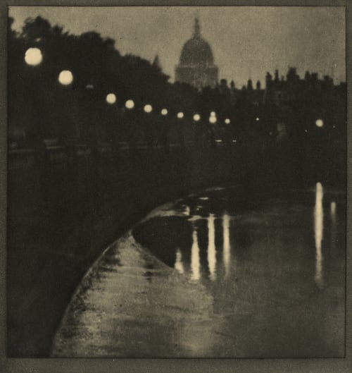 The Embankment Coburn, Alvin Langdon  (American, 1882-1966)