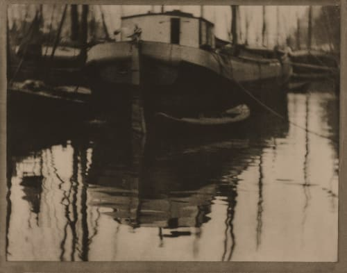 A Canal Rotterdam Coburn, Alvin Langdon  (American, 1882-1966)