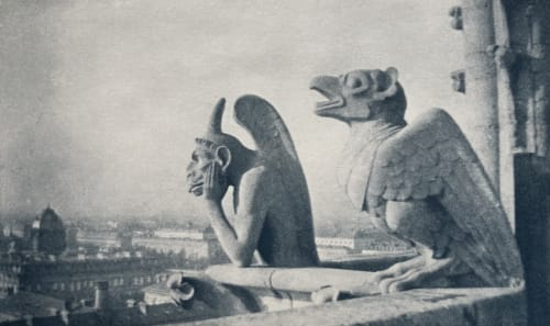 Le Stryge, Notre Dame Coburn, Alvin Langdon  (American, 1882-1966)