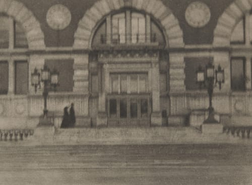 The Halls of Julia Coburn, Alvin Langdon  (American, 1882-1966)