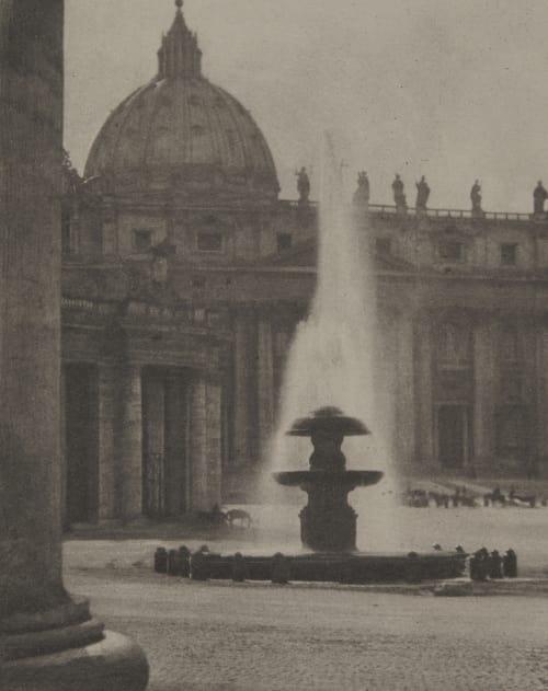 By Saint Peter's Coburn, Alvin Langdon  (American, 1882-1966)