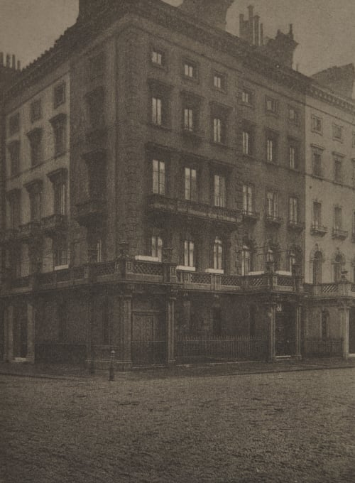 31 Lowndes Square, Mr. Lowell's House while Minister to England Coburn, Alvin Langdon  (American, 1882-1966)