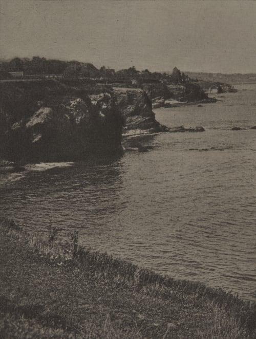 On the Cliff Walk, Newport Coburn, Alvin Langdon  (American, 1882-1966)