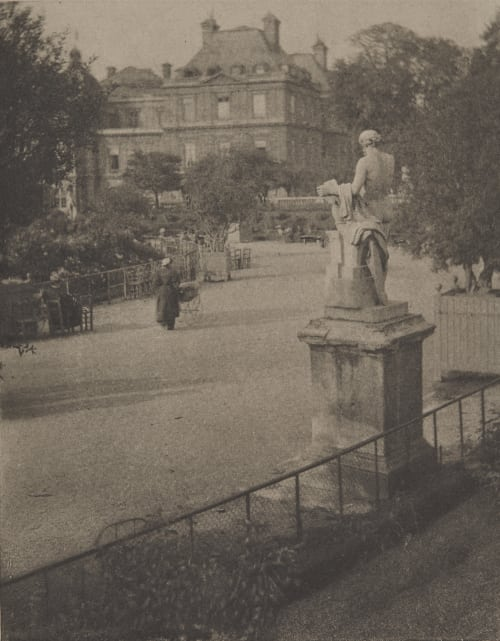 The Luxembourg Gardens Coburn, Alvin Langdon  (American, 1882-1966)