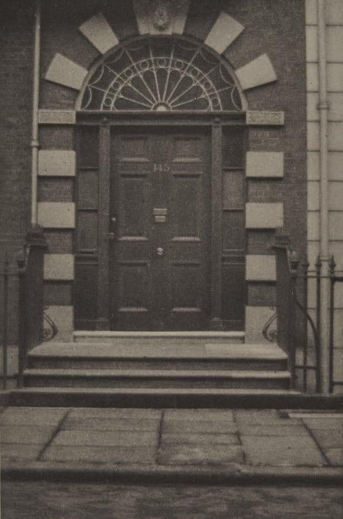 The Doctor's Door Coburn, Alvin Langdon  (American, 1882-1966)