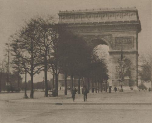 """Splended Paris, Charming Paris"" Coburn, Alvin Langdon  (American, 1882-1966)"