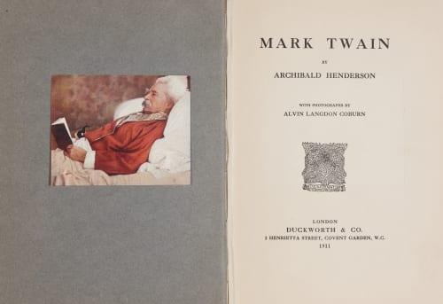Mark Twain Coburn, Alvin Langdon  (American, 1882-1966)