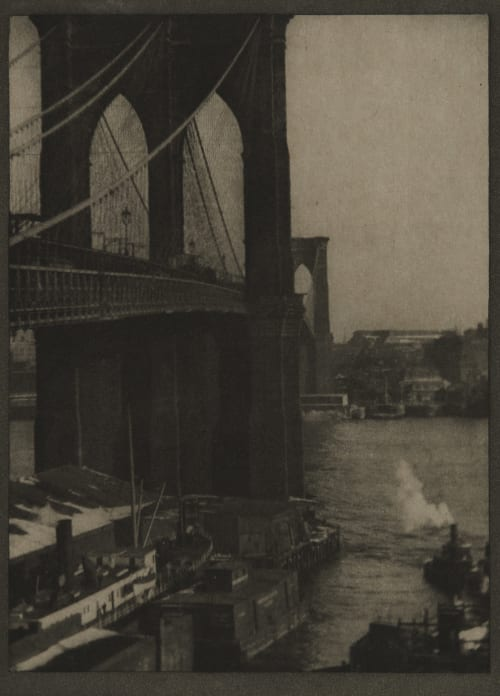 Brooklyn Bridge, From a Roof-Top Coburn, Alvin Langdon  (American, 1882-1966)