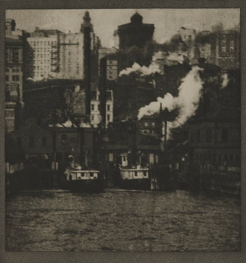 The Battery Coburn, Alvin Langdon  (American, 1882-1966)