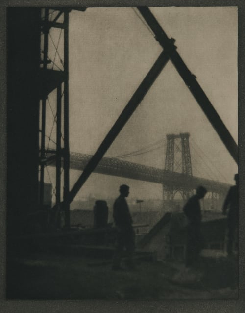 Williamsburg Bridge Coburn, Alvin Langdon  (American, 1882-1966)