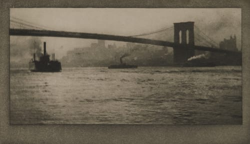 Brooklyn Bridge From River Coburn, Alvin Langdon  (American, 1882-1966)