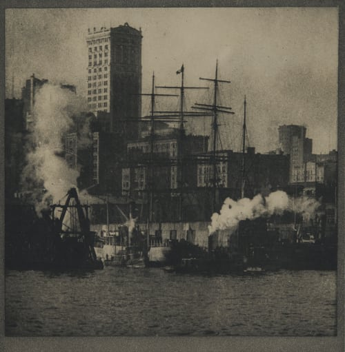 The Water Front Coburn, Alvin Langdon  (American, 1882-1966)