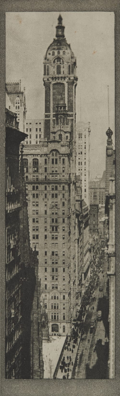 The Singer Building, Noon Coburn, Alvin Langdon  (American, 1882-1966)