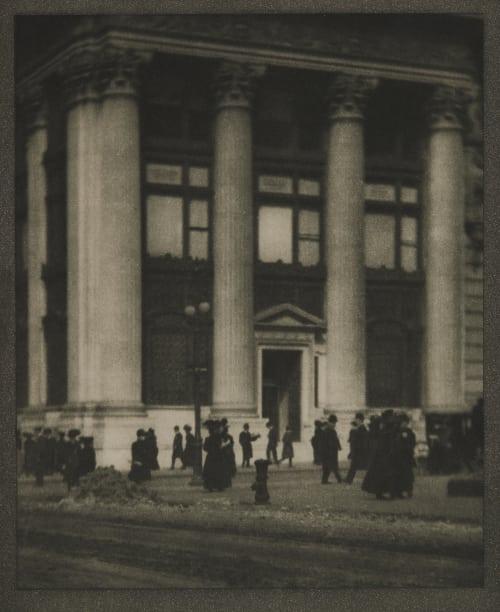 The Nickenbocker Trust Company Coburn, Alvin Langdon  (American, 1882-1966)