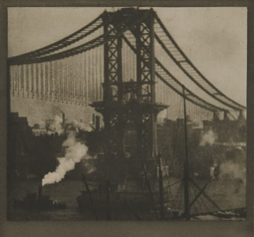 The Unfinished Bridge Coburn, Alvin Langdon  (American, 1882-1966)