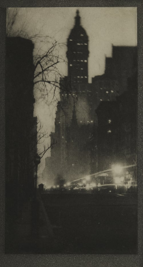 The Singer Building, Twilight Coburn, Alvin Langdon  (American, 1882-1966)