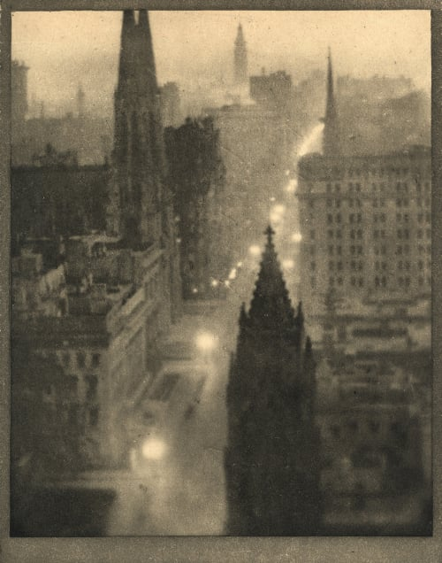 Fifth Avenue From the St. Regis Coburn, Alvin Langdon  (American, 1882-1966)