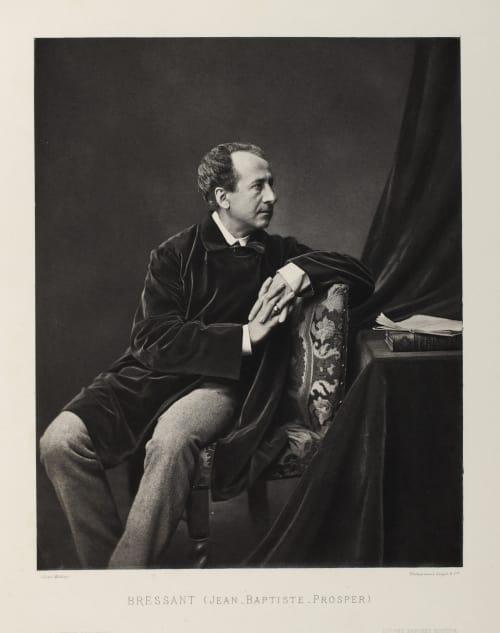 Bressant (Jean_Baptiste_Prosper) Mulnier, Ferdinand  (French, 1863-1935)