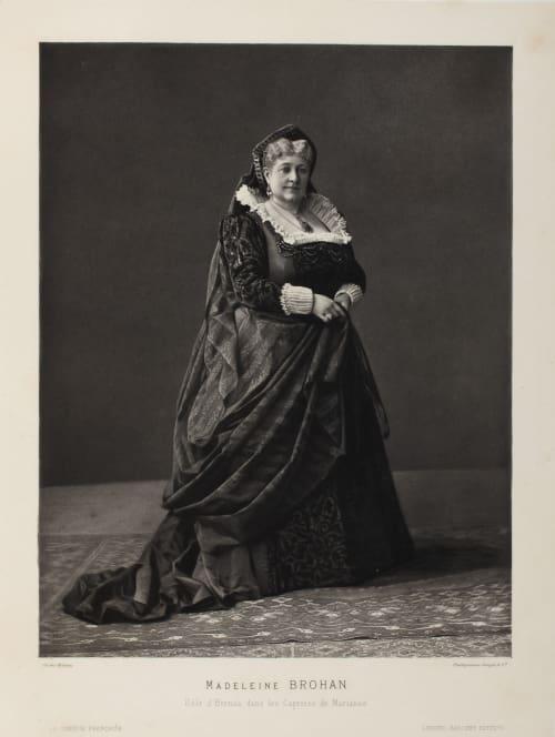 Madeleine Brohan Mulnier, Ferdinand  (French, 1863-1935)