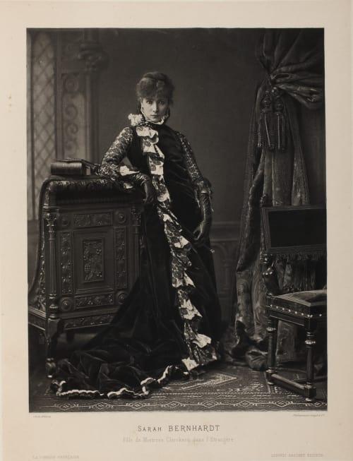 Sarah Bernhardt Mulnier, Ferdinand  (French, 1863-1935)