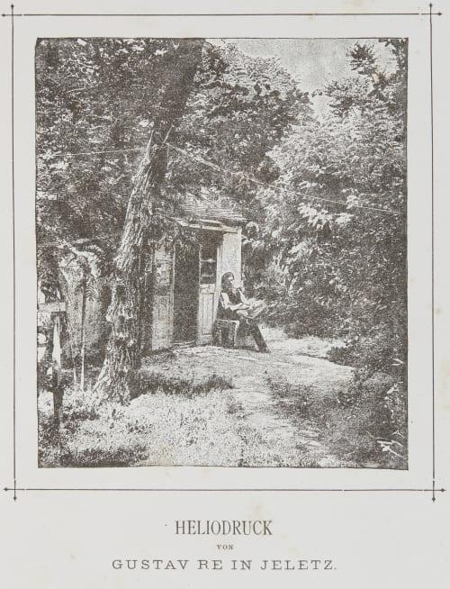 Heliodruck von Gustav Re In Jeletz Haack, Carl  (Austrian, 1850-1900)