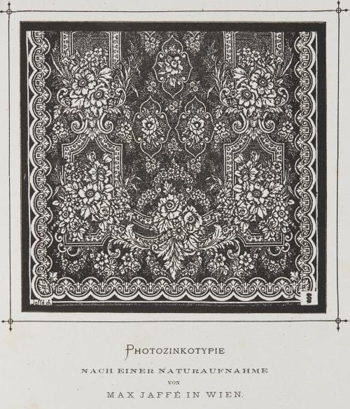 Photozinkotypie Nach Einer Naturaufnahme von Max Jaffé in Wien Jaffé, Max  (Austrian, 1845-1939)