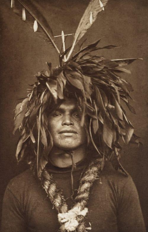 Warrior's Feather Head-dress – Cowichan Curtis, Edward Sherrif  (American, 1868-1952)