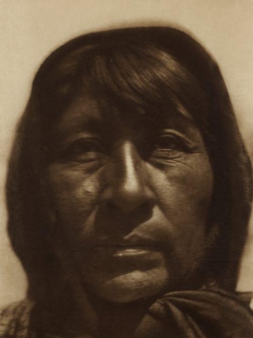 Paviotso Woman of Pyramid Lake Curtis, Edward Sherrif  (American, 1868-1952)
