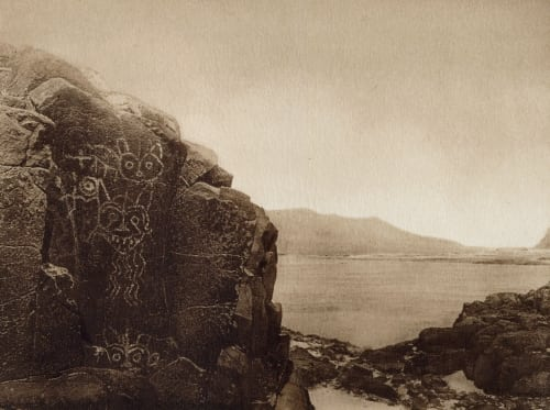 Petroglyphs- – Wishham Curtis, Edward Sherrif  (American, 1868-1952)