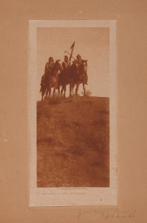 In the Land of the Apsaroke Curtis, Edward Sherrif  (American, 1868-1952)