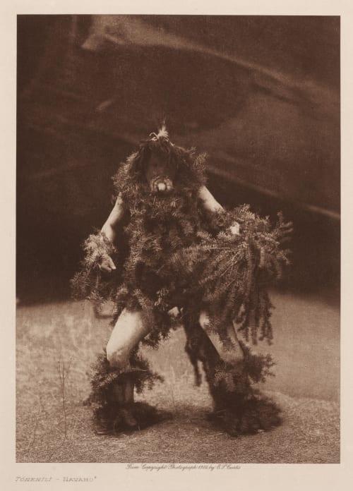 Tonenili – Navaho Curtis, Edward Sherrif  (American, 1868-1952)