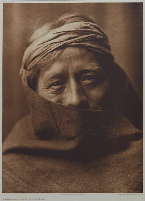 Waihusiwa, A Zuni Kyaqimassi Curtis, Edward Sherrif  (American, 1858-1962)