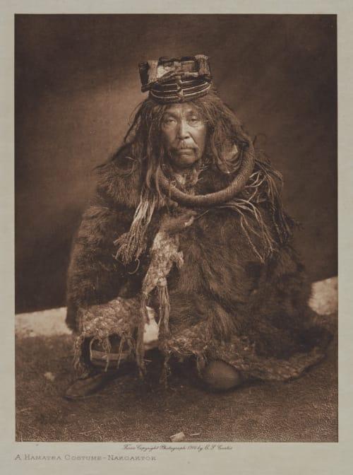 A Hamatsa Costume – Nakaotka Curtis, Edward Sherrif  (American, 1868-1952)