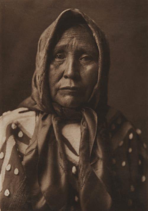 Spokan Matron Curtis, Edward Sherrif  (American, 1868-1952)